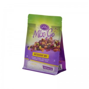 Wholesale Resealable box pouch for Nuts and other food