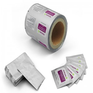 Roll stock plastic film with Rotogravure printing & flexo printing